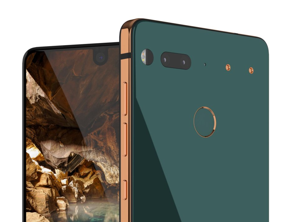 Android creator unveils his new Essential Phone and it is
