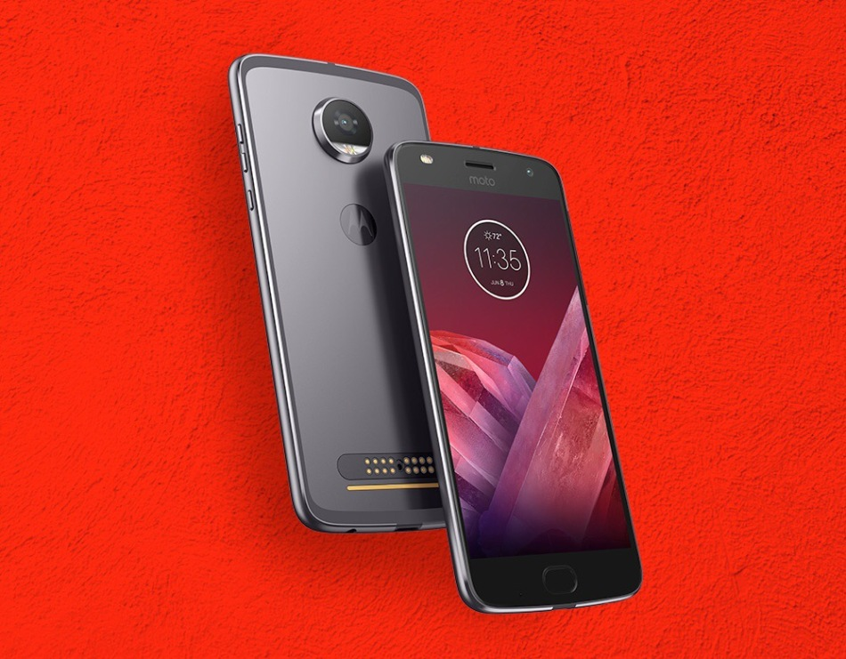 Motorola launched Moto Z2 Play and four new Moto Mods